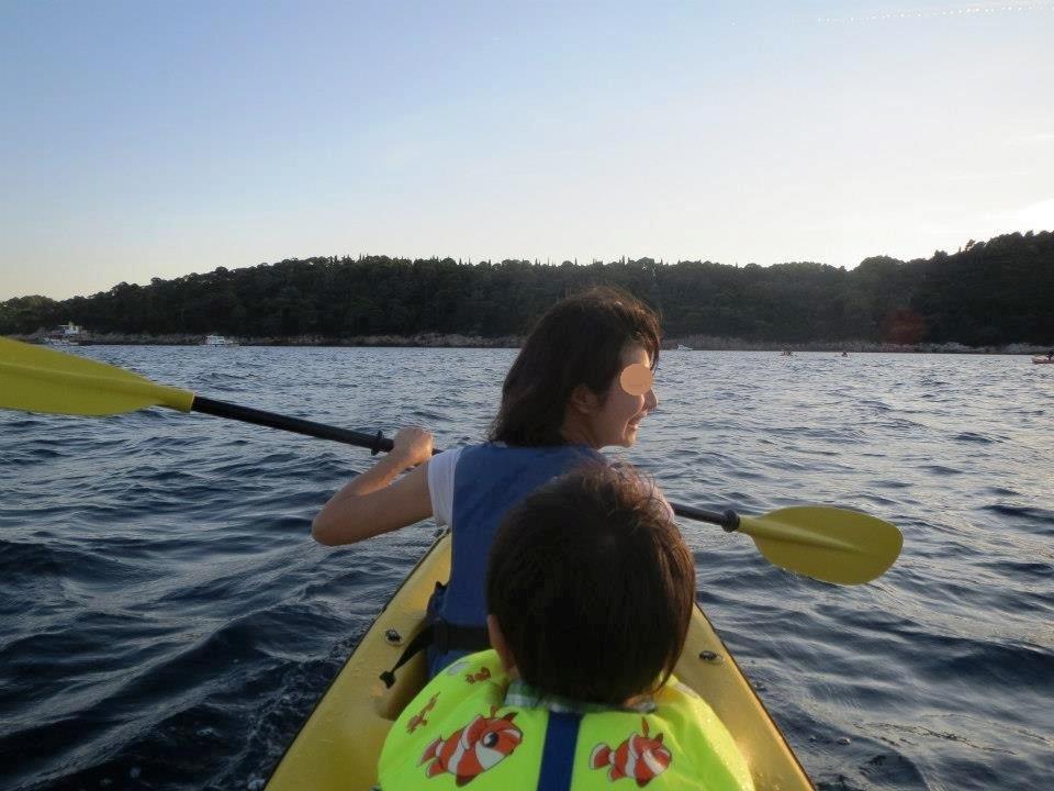 クロアチア カヤック アドリア海