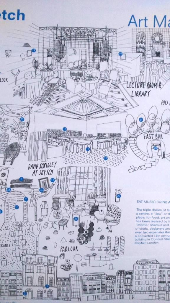 ロンドン スコーン おすすめ スケッチ sketch