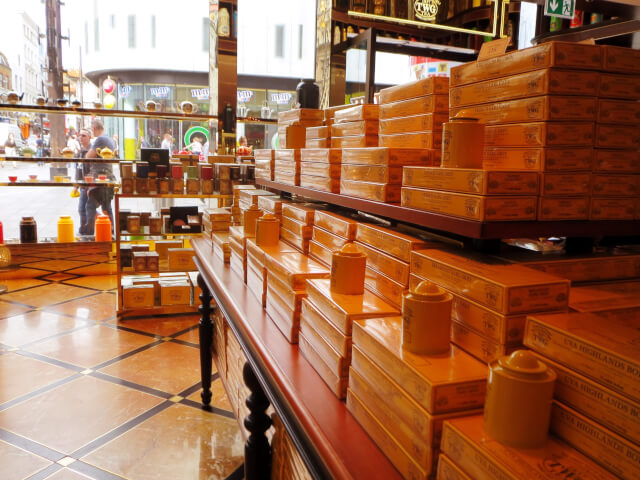 TWG 紅茶 ティーバッグ ロンドン レスタースクエア