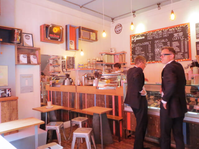 ロンドン おすすめジェラート 美味しいアイスクリーム デザート スイーツのお店 La Gelateria