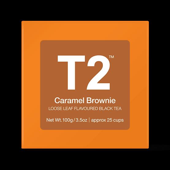 紅茶おすすめ、美味しい、紅茶ブランド、イギリス、ロンドン、T2、キャラメルブラウニー
