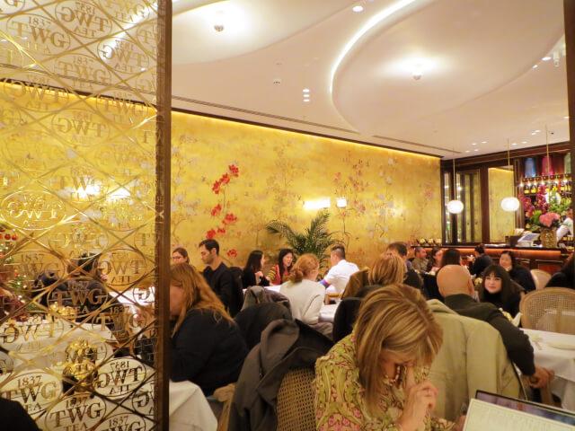 TWG アフタヌーンティー ロンドン ティーサロン レストラン ティールーム