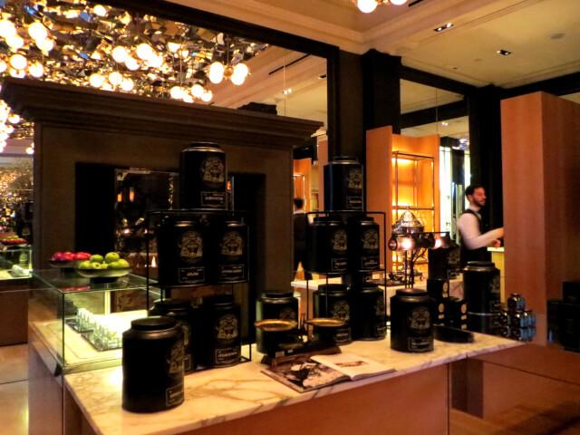 ローズウッドホテル、Rosewood London, アフタヌーンティー、ミラールーム、紅茶はマリアージュフレール