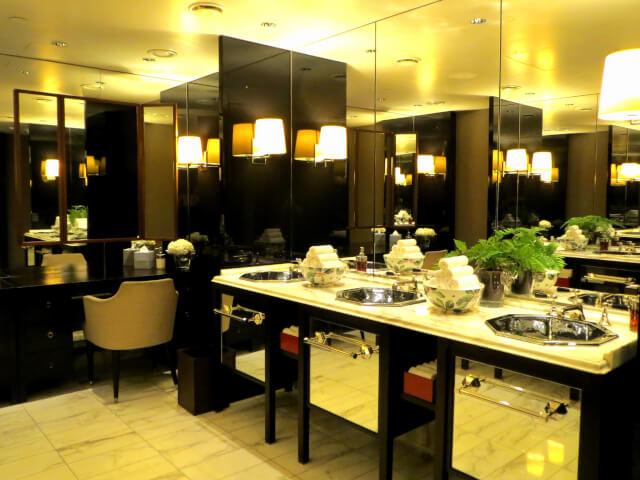 ローズウッドホテル、アフタヌーンティー、お手洗い、トイレ、ロンドン、Rosewood-London、イギリス