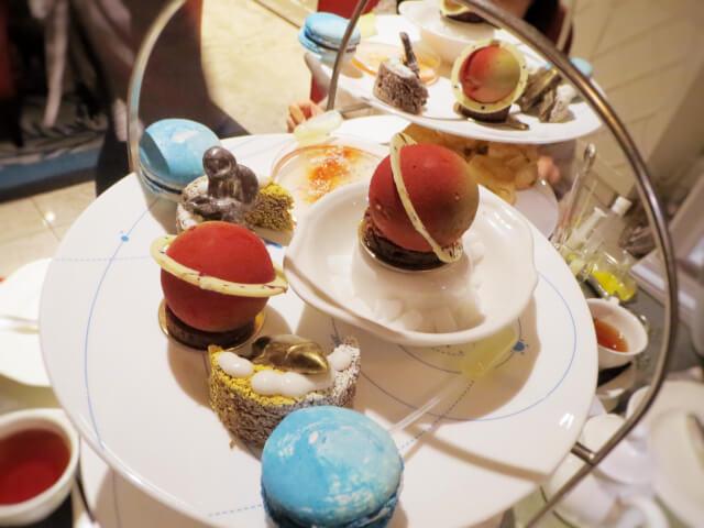 The Ampersand Hotel, サイエンス・アフタヌーンティー、Drowing Room, ケーキ